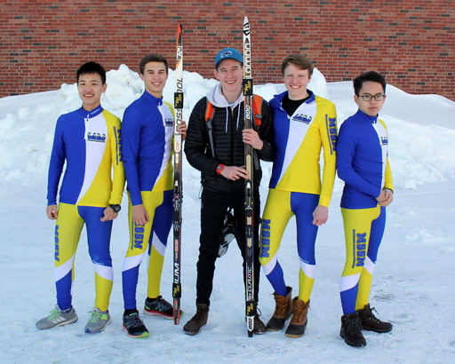 Nordic Ski Meet in Fort Kent on February 1 2017