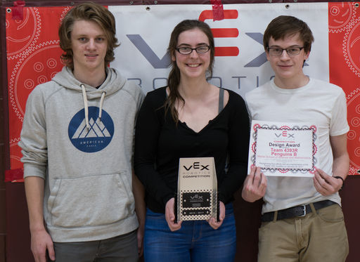 MSSM teams compete in Greely Vex Robotics Competition