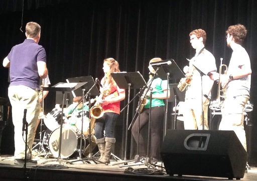 MSSM's Jazz Ensemble competed in District 7 Jazz Festival