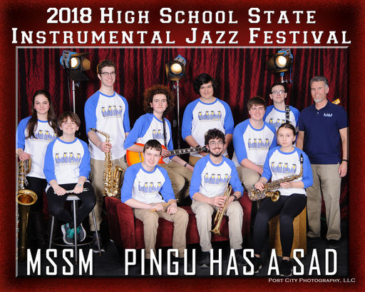 MSSM Jazz Band Competes in State Festival