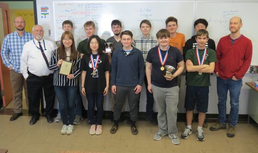 Maine School of Science and Mathematics Takes Number One Spot in Maine State Math Meet
