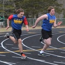 Athletic Meet at Mount Desert Island High School - April 21, 2018
