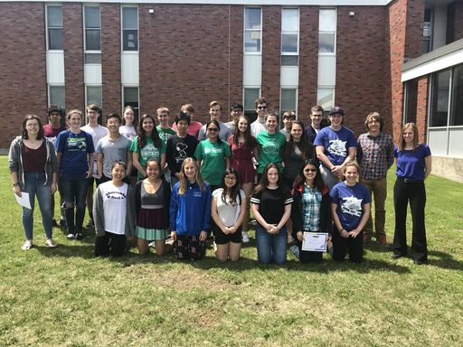 Track and Field Recognition held May 23, 2018