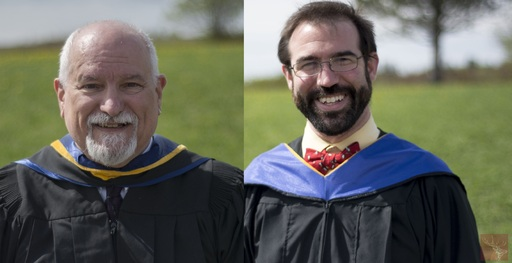 Final Graduation for Maine School of Science and Mathematics Executive Director and Mathematics Department Chair