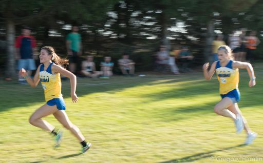 Boys and Girls Cross Country at University of Maine-Presque Isle - September 14 2018