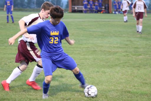 Boys and Girls Soccer game against Van Buren - October 2, 2018