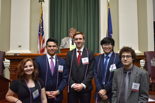 Youth in Government - November 9- 11, 2018