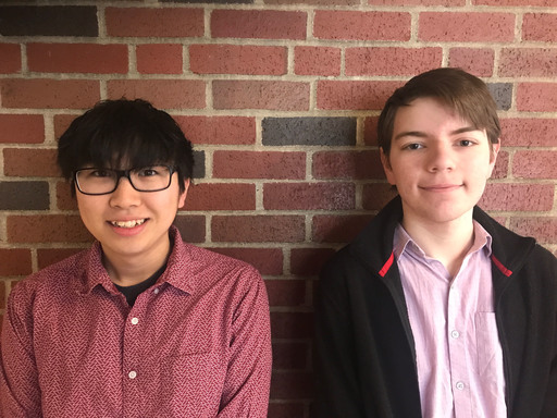 Two Students from Maine School of Science and Mathematics Awarded Top High School Senior Ranking with Full College Scholarships