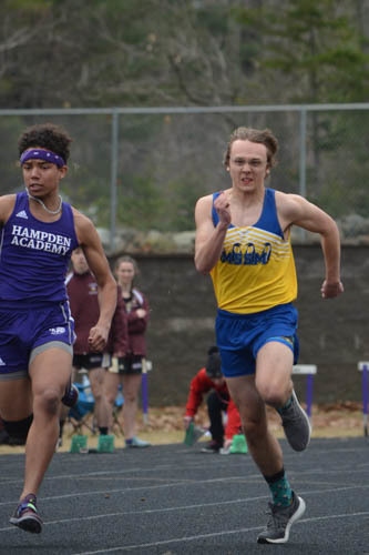 Athletic Meet at Hampden Academy on April 19th 2019