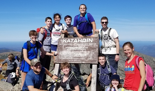 Climbing Mount Katahdin - September 21 2019