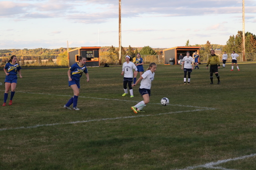 Boys and Girls Soccer Matches Against Van Buren - October 8 2019