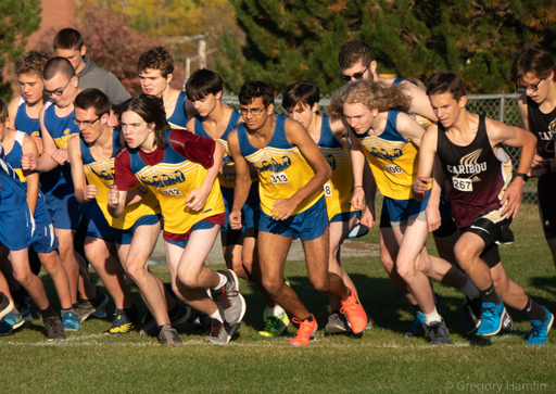 Cross Country Meet at University of Maine-Presque Isle