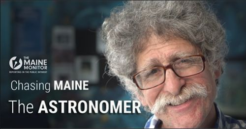 MSSM Astronomy Instructor featured in Maine Monitor